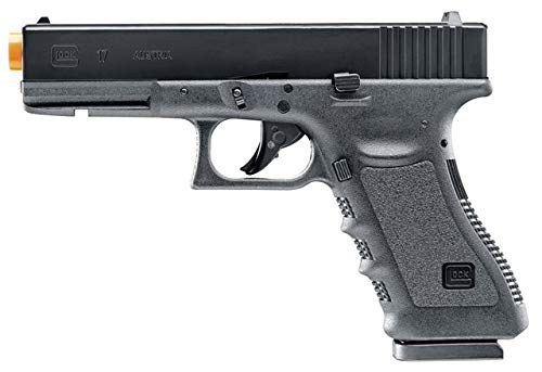 Umarex Glock 17 Gen3 Blowback 6mm BB Pistol Airsoft Gun, CO2 Powered, Clamshell Packaging