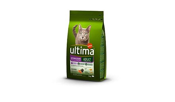 ultima Pienso para Gatos Adultos Esterilizados con Salmón - 1500 gr