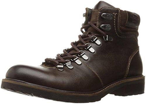 Bass Leather Boot - G.H. Bass & Co. Men's Benedict Chukka Boot, Dark Brown, 9.5 M US