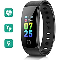 STOON Fitness Tracker, 0.96inch Color Screen Heart Rate...