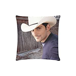 At-Baby Brad Paisley American Songwriter Bedding Home Decoration Custom Zippered Pillow Cases 16X16 (Twin sides) TT2