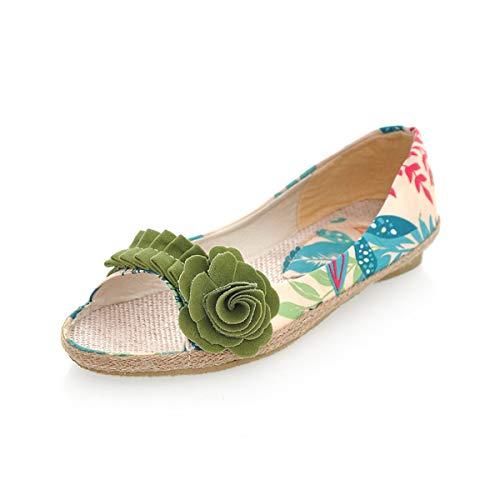 Chaussures Vert coloré EU Taille ZHRUI Vert 37 aqZwda
