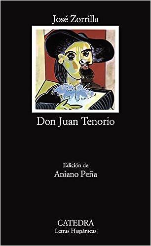 Book Don Juan Tenorio (Letras Hispanicas)
