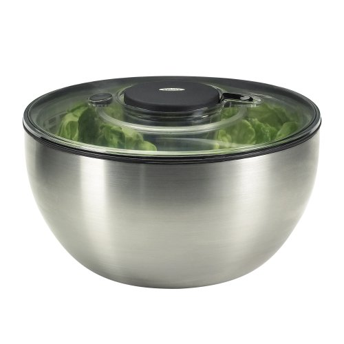 Gadgets Salad Spinner (OXO Steel Salad Spinner)