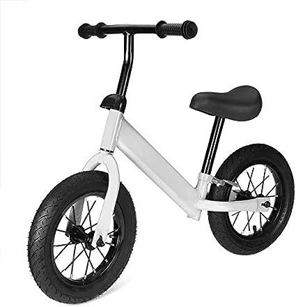 QHY Niños Bicicleta De Equilibrio Bicicleta Niños Scooters 1-3-6 Años Paseo Antiguo Mini Scooter Yo Coche 2 Ruedas Inflable Infantil Juguetes Regalo (Color : White)