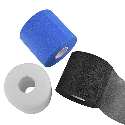 - Pre Wrap Athletic Tape Sponge Quacoww Brand 3 Roll Athletic Tape Wrap, Total 87 Yards