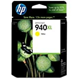 HP 940XL Yellow High Yield Original Ink Cartridge (C4909AN) for HP Officejet Pro 8000 8500