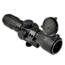 SNIPER SCOPE RUBBER ARMORED LT6X32LR WITH CARRY HANDLE RING AND PICATINNY ADAPTER