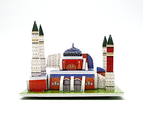 Pandoras Box Puzzle (Mini 3D Puzzles Architecture Hagia Sophia Easy for Baby 3 Years and more Mini Size 2.5