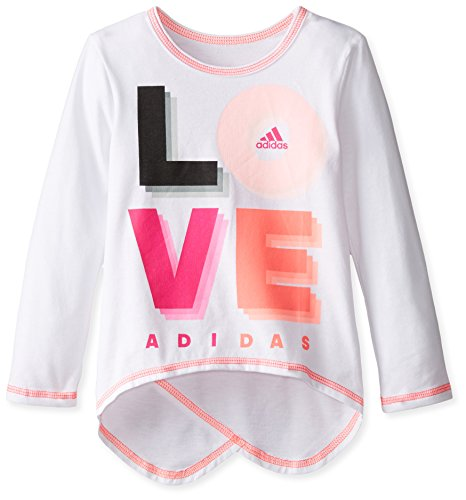 adidas Girls Sleeve Girly Shirt