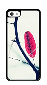Good Vibes Unique Fashion Printing Phone iphone 5c cases for women designer - Yellow leaves