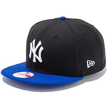 04dd1490df492 ニューエラ キャップ NEWERA 9FIFTY ニューヨークヤンキース スナップバック キャップ / ブラック×ホワイト ロイヤルバイザー ニューエラ