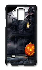 Samsung Note 4 Case,VUTTOO Stylish Halloween Nights Hard Case For Samsung Galaxy Note 4 / N9100 / Note4 - PC Black
