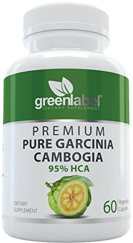 Garcinia Cambogia 100% Pure Extract + 95% HCA, Natural Fast Acting Fat Burner, Carb Blocker + Slimming Aid, Best Diet Supplement, Appetite Suppressant + Weight Loss Pills, for Women + Men.