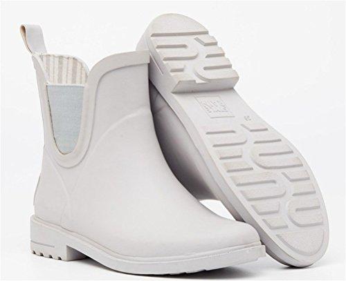 Cute Rain Women ACE Rain High SHOCK Grey Footwear Casual Antiskid top Boots Waterproof TT0wzA