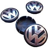 VW New Beetle Gol Golf Polo Hubcap Wheel Center Caps 1J0601171 1J0 601 171 (Set of 4 pieces)