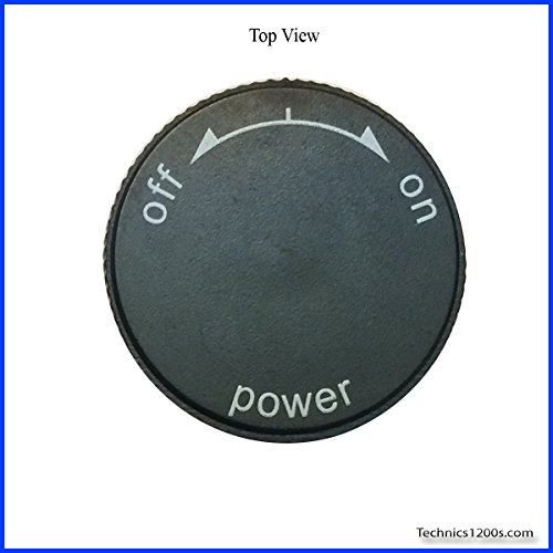 Technics 1200 / 1210 MK2 Power On / Off Knob (CAP ONLY) (Technics 1210 Turntable compare prices)