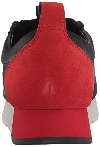 Dolce Vita Women's Yana Sneaker Black/Red Leather free shipping manchester great sale cheap sale low cost from china free shipping footlocker cheap price FKSRJAf