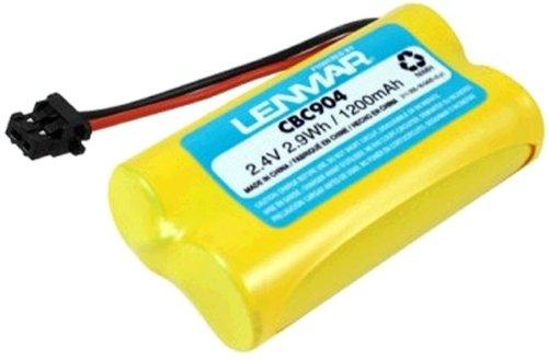 LENMAR CBC904 UNIDEN REPLACEMENT BATTERY. Fits: Panasonic KX-TG2000B Handset KX-TG4000 Handset / KX-TG4000B / KX-TGA400B / KX-TGA420B / KX-TGA420B / RadioShack ET-3533 / ET-3541 / Uniden EXP-370 / EXP-370A / EXP-370CS / EXP-371 / EXP-4540 / EXP-4541 / EXP-970 / EXP-971. Replaces: Panasonic HHR-P506 / HHR-P506/A / Uniden BT-1007 / BT-1015 / BT-904 / Energizer ER-P506 / GP Batteries GP60AAS2BMX / Sprint 89340. LENMAR CBC904 Replacement Battery for Uniden EXP-370 / EXP-371 / EXP-4540 / EXP-4541 / EXP-970 / EXP-971 Cordless Phones (Lenmar Cbc904 Cordless Phone Battery)