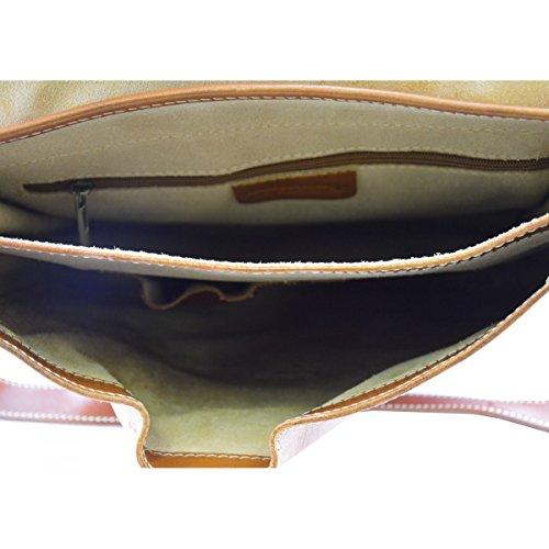 Vera Pelle In Tracolla Colore Pelletteria Made In Cognac A Uomo Borsa Toscana Borsa Italy qvIwSBtS