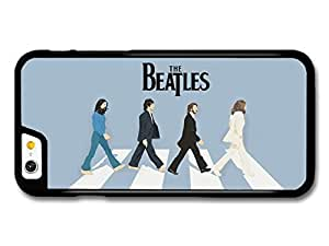 AMAF ? Accessories The Beatles Abbey Road Walk Illustration Blue Background case for iPhone 6