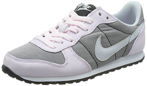 Nike Wmns Genicco Canvas, Zapatillas de Deporte Para Mujer Negro (Black / Pure Platinum-Blchd Llc)