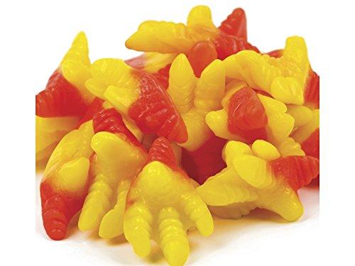 Gummy Chicken Feet Candy Gummi Candy 2.2 Pounds