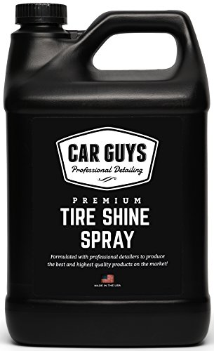 Tire Shine Spray 1 Gallon Bulk Refill - Best Tire Dressing Car Care for Car Tires After a Hand Car...