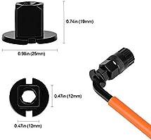 QKURT Kits de Herramientas de Cadena de Bicicleta, Herramienta de eliminación de Cassette de Bicicleta+Llave de la Bici+Herramienta de Bloqueo de Cassette con Pasador+Removedor de piñón: Amazon.es: Deportes y aire libre