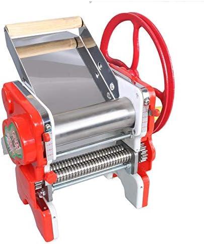 パスタマシン製麺機 多機能パスタマシンカッター麺メーカー麺メーカー自家製パスタメーカー 高品質業務用 家庭用 (Color : Red, Size : 40X38X28CM)