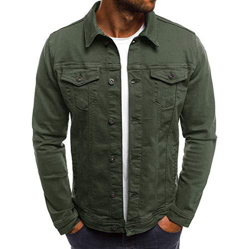 51ba7fd3b Talk about heaven 2019 Men's Denim Jacket Fashion Jeans Jackets Slim Fit  Casual Streetwear,Color