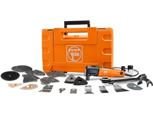 Fein FMM250Q TOP PLUS MultiMaster Oscillating 250W Variable Speed Tool Kit with Case and Accessories by Fein by Fein