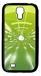Samsung Galaxy S4 I9500 Cases & Covers - Time Tunnel Custom PC Soft Case Cover Protector for Samsung Galaxy S4 I9500 - Black