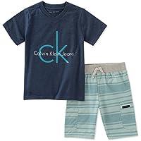 Calvin Klein Boys' 2 Pieces Shorts Set
