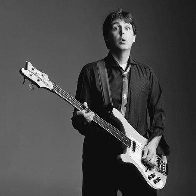 Paul McCartney Banner Poster (Rare)