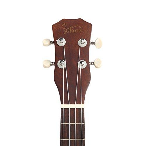 Lovinland 26'' Wooden Ukulele Hawaiian Ukulele Beginner Guitar Toys Rosewood Fingerboard with Bag by Lovinland (Image #3)