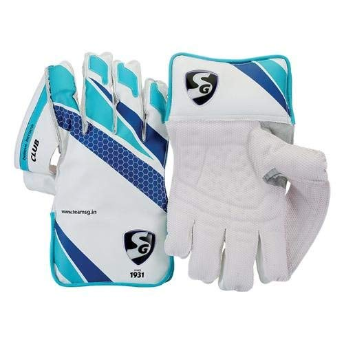 SG Club Wicket Keeping Gloves Mens Size