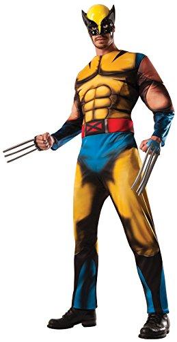 Rubie's Men's Marvel Universe Deluxe Adult Wolverine Costume, Multi, Standard -