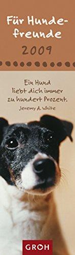 Für Hundefreunde, Lesezeichenkalender 2009