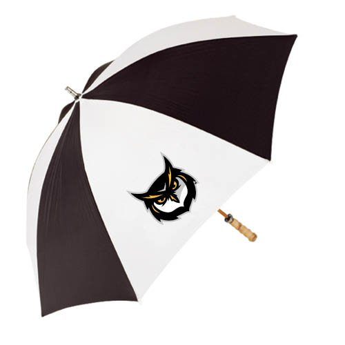 Kennesaw 62インチブラック/ホワイト傘'フクロウヘッド'   B00EJQQQAY