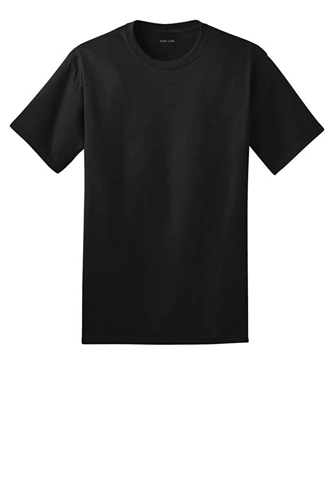 100/% Ring Spun Soft Cotton T-Shirts in Adult Sizes S-4XL Joes USA