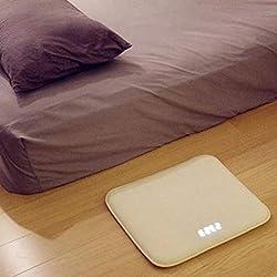 HEGUANGWEI Pressure Sensitive Alarm Clock Carpet Electronic Digital Clock Bedroom Anti-Slip Wear-Resisting Soft Mat Smart Wake Up Novelty Creative Decoration