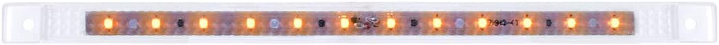 10-1//8 Ultra Thin 12 LED Bar GG Grand General 75960 Amber//Amber Marker Light