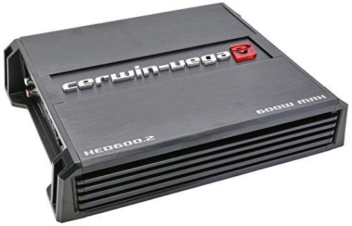 CERWIN VEGA XED600.2 600-Watt Class AB Amplifier, 2 Channels, 600W - Las S Vegas
