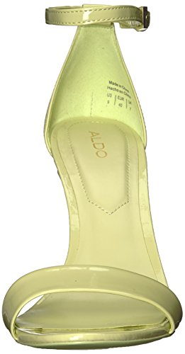 ALDO Womens Cardross Heeled Sandal Light Green UxSZo