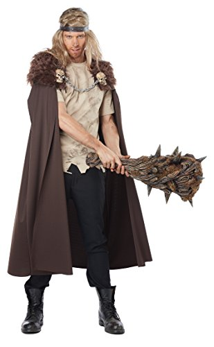 California Costumes Men's Warlord Cape, Brown, One Size