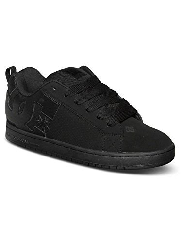 DC Shoes Men's Court Graffik Shoes Black/Black/Black (Dc Shoes Boots)