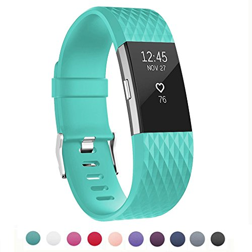 UPC 707409067572, Bands for Fitbit Charge 2, Classic Fitness Replacement Accessories Wrist Band for 2016 Fitbit Charge 2