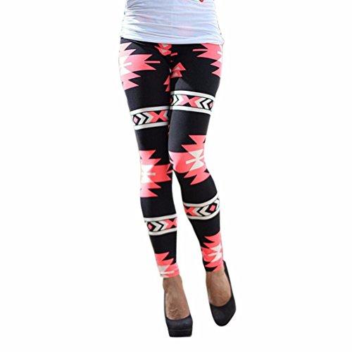 Women's Multi-Color Skinny Printed Long Soft Full Length Leggings A3