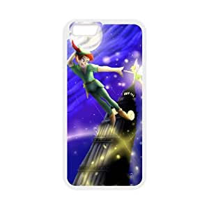 iPhone 6 Plus 5.5 Inch Cell Phone Case White Peter Pan Cheap Phone Case Plastic ZFZ